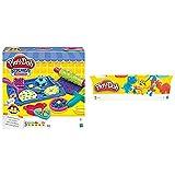 Play Doh Cookie Creations (Hasbro, B0307Eu9) + -B6510 Pack 4 Botes (Hasbro B5517) , Color/Modelo Surtido