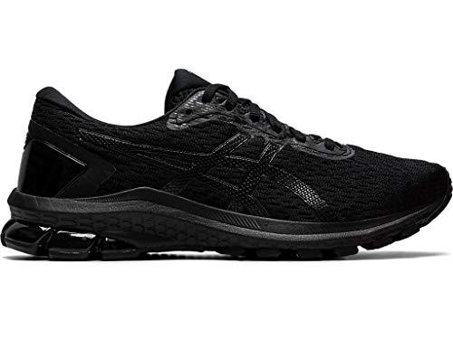 ASICS Women's GT-1000 9 Running Shoes, 11.5M, Black/Black