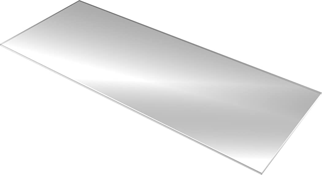 理想的いくつかの組ガラス棚板 (コレクションラックハイタイプ 幅90cmX奥行39cm用)