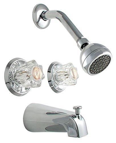 Chrome LDR IND LDR 520 6350CCP 6 Function Massage Showerhead