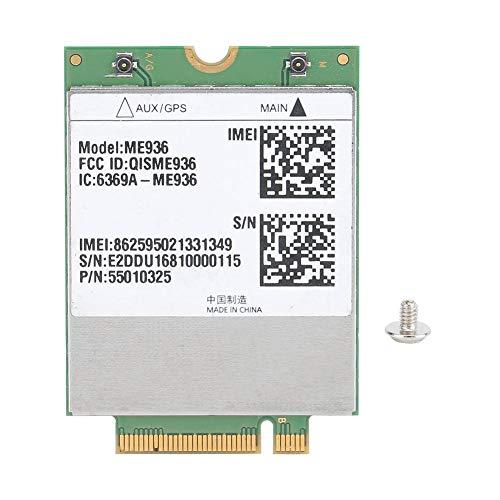 Scheda di Rete LTE 4G, per Huawei ME936 Modulo FDD LTE 4G da 100 Mbps con interfaccia NGFF Supporto HSPA + WCDMA Adatto per la Maggior Parte dei Notebook o Altri dispositivi