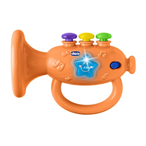 Chicco 00009614000000 Musical Trumpet, mehrfarbig