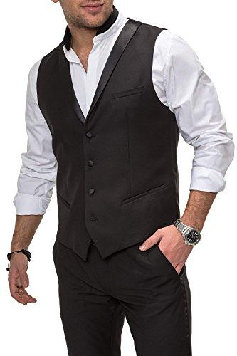 Antony Morato Herren Anzugweste Sakko Herrenanzug Anzug (48, Black)