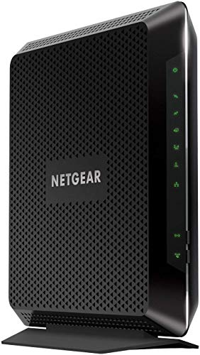 NETGEAR Nighthawk AC1900 (24x8) DOCSIS 3.0 WiFi Cable Modem Router Combo (C7000) Certified for Xfinity from Comcast, Spectrum, Cox, & More (Renewed)