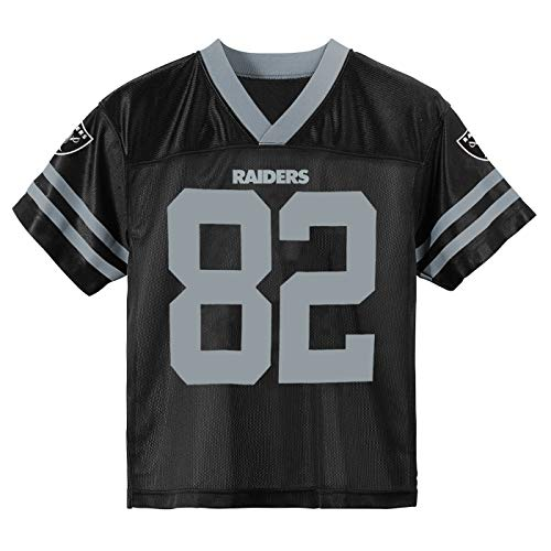 Outerstuff Jordy Nelson Oakland Raiders #82 Black Toddler Home Player Jersey (2T)