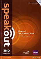 Speakout Advanced 2nd Edition Flexi Students' Book 1 with MyEnglishLab Pack