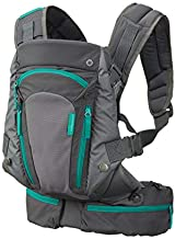 Infantino Carry On Carrier - Ergonomic, Expandable, face-in and face-Out, Front and Back Carry for Newborns and Older Babies 8-40 lbs