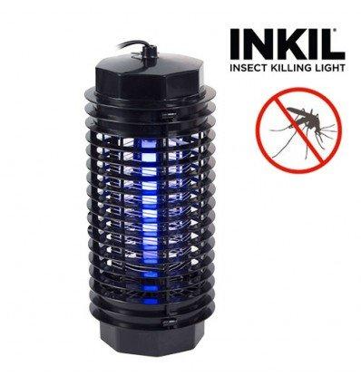 Inkil IG104216 - Lámpara antimosquitos eléctrica, luz uva, fulmina insectos,...