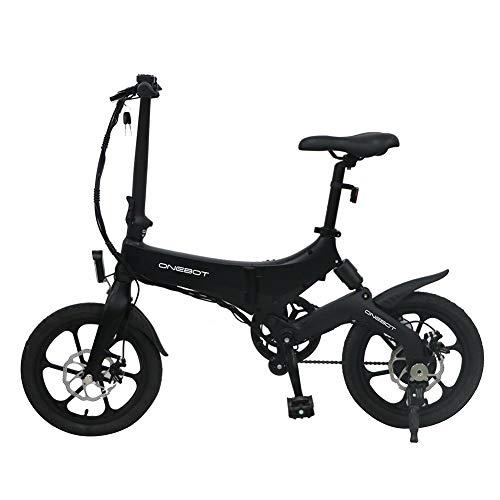 Vélo électrique Pliant ONEBOT S6, réglage 3 Vitesses, Cadre léger Alliage magnésium, Pneu antidérapant résistant à l'usure