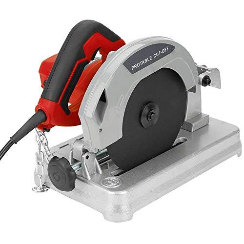 【】 Sierra de inglete pequeña máquina de sierra de aluminio, 1200W Sierra...