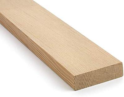 "1 in. x 4 in. (3/4"" x 3-1/2"") Construction Premium Douglas Fir Board Stud Wood Lumber - Custom Length - 3 Feet"