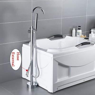 Amazing Deal Bathtub Faucets ,Bibcocks ,Toilet Brush, Antique Black Bronze Floor Stand Bathtub Fauce...