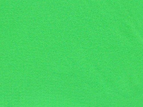 Dalston Mill Fabrics – Tessuto di Feltro Acrilico, al Metro, Larghezza 147 cm, Acrilico, Green, 1 m