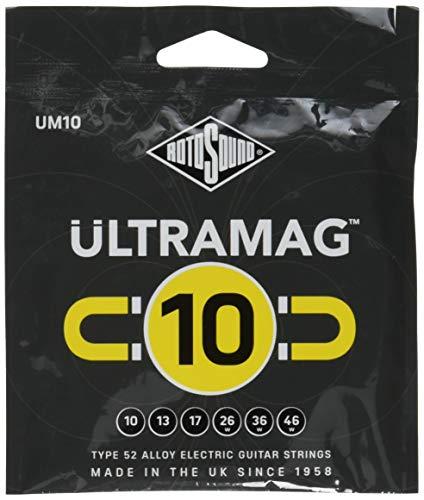Rotosound UM10 Ultramag - Cuerdas para guitarra eléctrica (10-46)