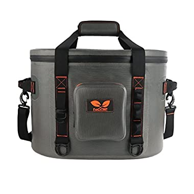 F40C4TMP 30 Cans Cooler Leak-Proof Soft Sided Pack Cooler Bag Retention for Beach Party, Hiking, Camping and Any Outdoor Activities TMP 4