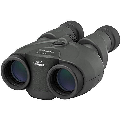 Canon 10x30 IS II Fernglas (10 fache Vergrößerung, Feldstecher, Präzisionsoptik, Powered IS Bildstabilisator, manuelle Fokussierung, Dioptrinkorrektur, Porroprisma II, Freihandeinsatz), schwarz