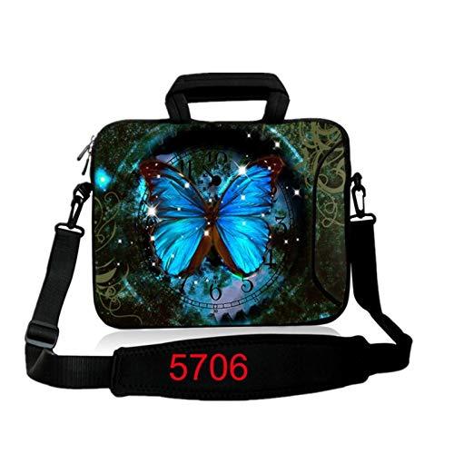 9.7 10.1 11.6 12.1 13.3 14.1 15.4 15.6 17.3 17.4Laptop Shoulder Bag Tablet Sleeve PC Case for Macbook HP Asus Acer HP Lenovo (Color : 5706, Size : 10 inch)