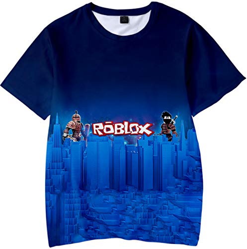 Roblox 3D Printed T-Shirt for Boy Girl Game Short Sleeve Casual Tee (110,Style16)