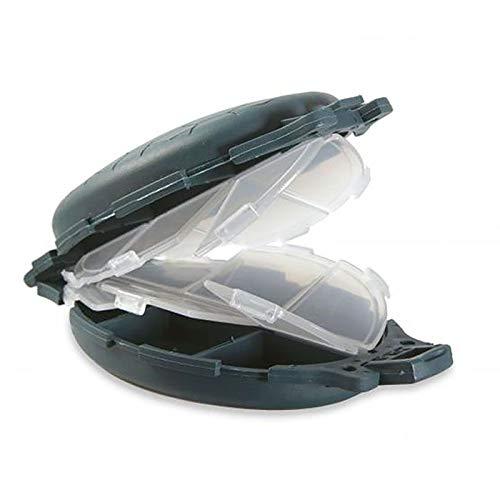 Lineaeffe Boîte Rangement 11 x 7.5 x 3 cm Boîte de Pêche Rangement Accessoire Leurre Hameçon Compartiment Plastique