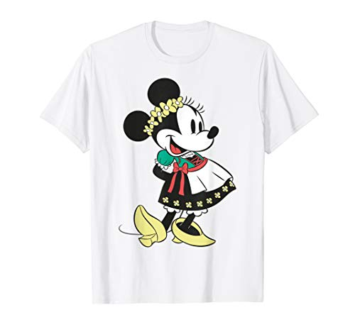 Disney Minnie Mouse Happy Dirndl Portrait T-Shirt