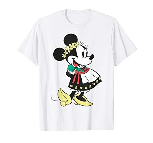Disney Minnie Mouse Happy Dirndl Portrait T-Shirt
