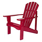 Shine Company Rockport Adirondack Chair, Chili Pepper