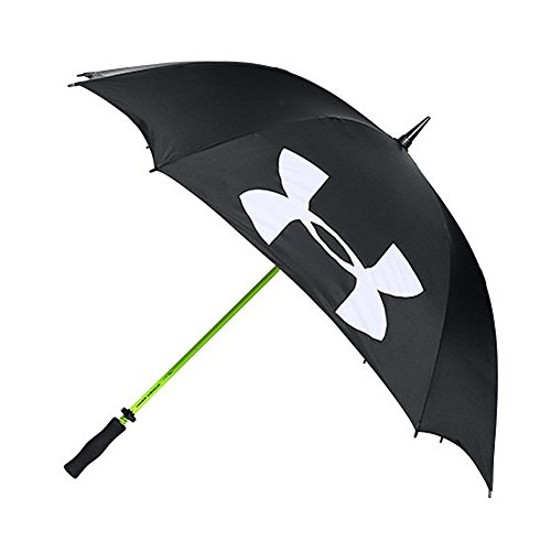 Under Armour Golf Umbrella, Black (001)/White, One Size