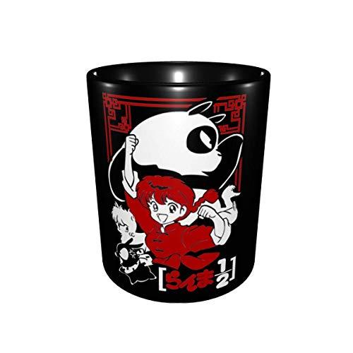 Dibujos animados Ranma 1 2. Taza de moda de cerámica de dos colores Taza de café Taza de té Estudiante de oficina 330ml