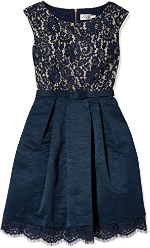 Eliza J womensEJ5M9445Lace Cap Sleeve Dress Sleeveless Dress - Blue - 12