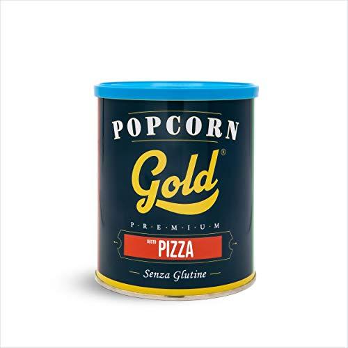 Fun Food Italia Popcorn Gold Premium Gusto - Senza Glutine, Pizza, in Barattolo da 30 G