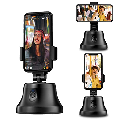 XZHFC Tracking Holder 360° Rotation Auto Face Object Smart Selfie Stick Camera Mount Photo Or Video Phone Holder Vlog Shooting Tripod Stand Gimbals Stabilizer For iPhone and Android