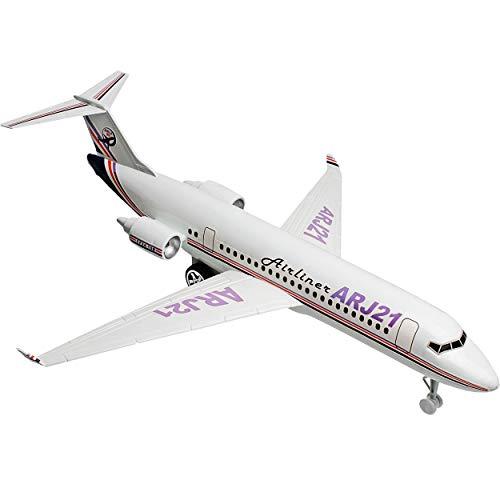 alles-meine.de GmbH 2 Stück _ große - XXL Flugzeuge - 44 cm lang - Kunststoff - bewegliche Räder - Spielzeugflugzeug - Flugzeuge / Passagierflugzeug - Plastik - sehr stabil - Flu..