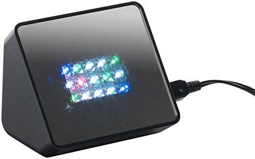 VisorTech Anwesenheitssimulator: Premium-TV-Simulator zur Einbrecher-Abschreckung mit 15 LEDs und Sound (Fernsehlicht)