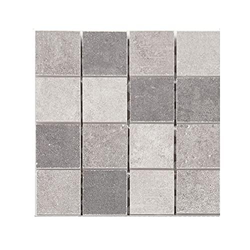 3D mosaico creativo azulejo pegatina shome decoración DIY pegatinas de pared a prueba de agua pegatinas de suelo porche decoración de pared 10 piezas