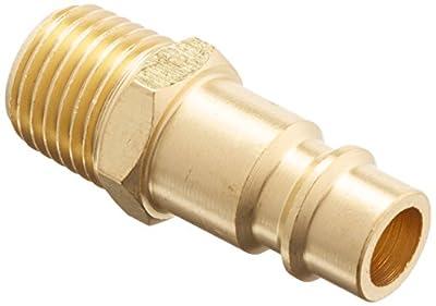 """Milton 1/4"""" MNPT V Style High Flow Plug - Pack of 2"""