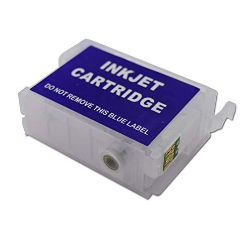 WSCHENG Cartucho De Tinta De Recambio De 30 Ml 9Color T760 con Chip De Reinicio Automático para La Impresora De Inyección De Tinta EPSON SureColor P600