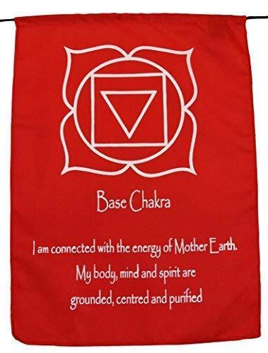 Small Seven Chakra Prayer Flags Banner Wall Hanging