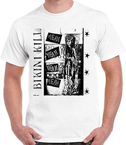 Bikini Kill Punk Rock Indie Yeah Yeah Retro T Shirt