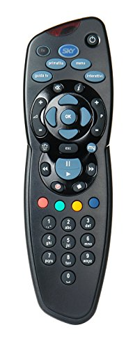 Telecomando MySKY, Comprensivo di 2 Batterie Duracell, Funziona con My Sky HD, My Sky e il decoder Sky HD, Autentici SKY715