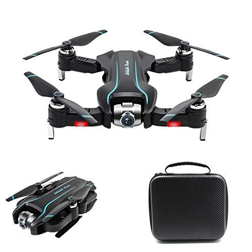 Izzya Drone con Cámara 1080 HD, Cuadricóptero RC Plegable Posicionamiento de Flujo óptico, Modo Sin Cabeza y Retorno a Casa, para Niños Adultos Principiantes