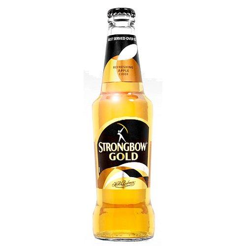 Strongbow Gold Cider Apfelwein 300 ml