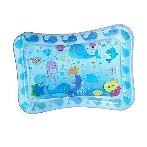 Tapis de jeu Kids Sprinkle and Splash, Gonflable bébé eau tapis de jeu for les nourrissons enfants en bas âge Fun Tummy Jouer Activité Temps Playmats Jouets le développement des jeunes centres d'activ