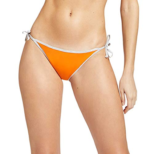 YAMAMAY Slip Costume da Bagno Donna Double Face Orange Blue - Sold out