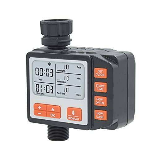 Holzsammlung Digitale Timer per irrigazione Automatico Dell'irrigazione Timer Automatico per L'acqua, per Giardino, Orto, Serra, Prato, Fattoria