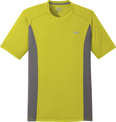 Outdoor Research Echo S/S Tee citron/pewter XL