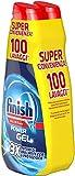 Finish Powergel, Gel Detersivo per Lavastoviglie Liquido, Multiazione, Brillantezza e Protezione, 100 Lavaggi, 2 Confezioni da 50 Lavaggi