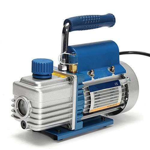 150 W 220 V Mini aria rotativa a palette pompa del vuoto compressore d'aria separatore LCD macchina di laminazione HVAC strumenti di riparazione di refrigerazione