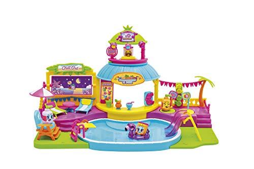 MOJIPOPS -  Pool Party con 2 exclusivas figuras MojiPops y variedad de accesorios