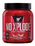 BSN Nutrition N.O.-Xplode Pre Workout Powder with Creatine Monohydrate, Beta Alanine, Caffeine, Vitamin