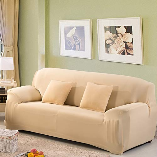Funda de sofá elástica elástica con Estampado Floral, Toalla de sofá de algodón, Fundas de sofá Antideslizantes para Sala de Estar A25, 1 Plaza